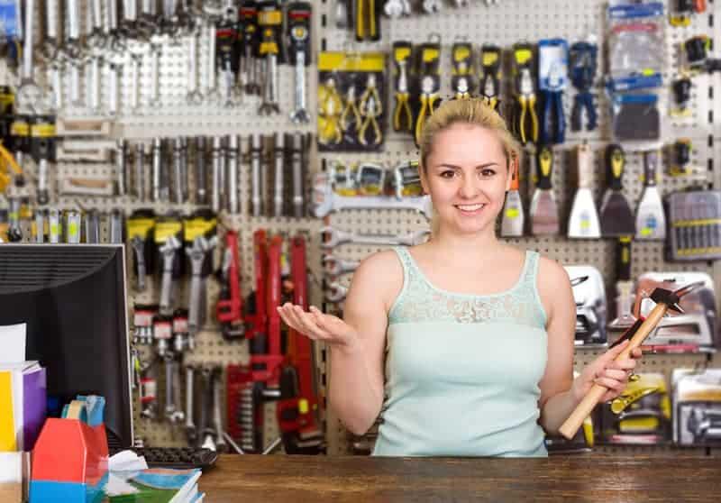 hardware store POS