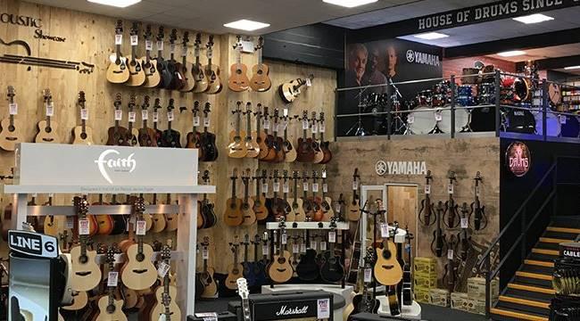 music store POS