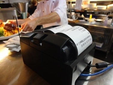 kitchen printers for restaurants