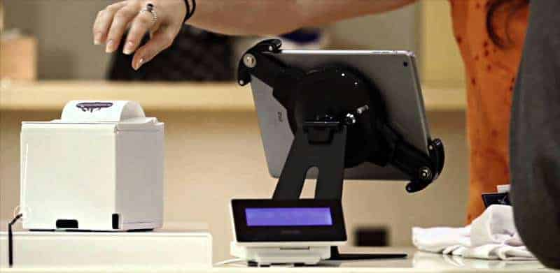 mobile pos system with printer