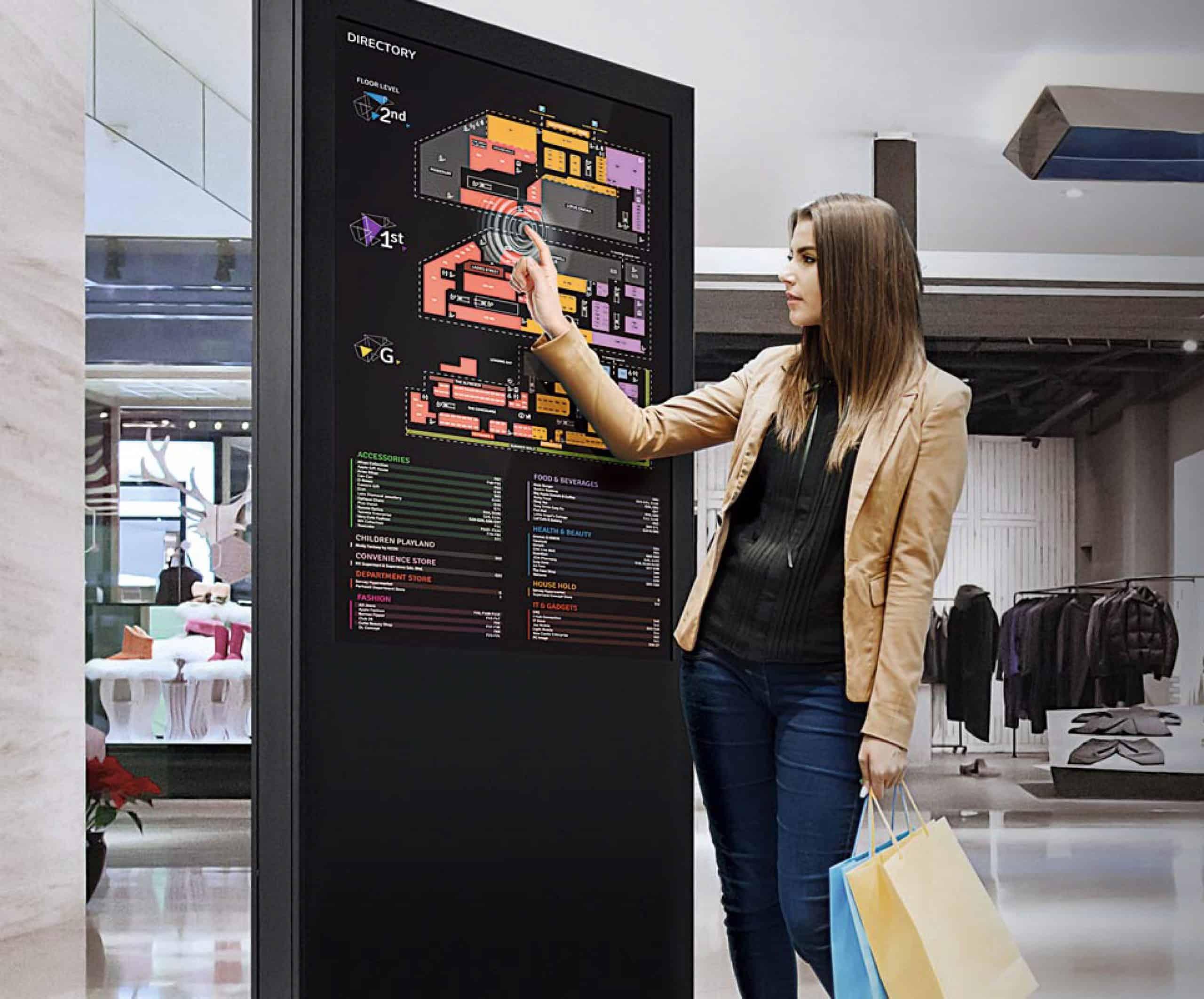 Self Service Touchscreen kiosks