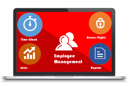 uniCenta POS System Employee management